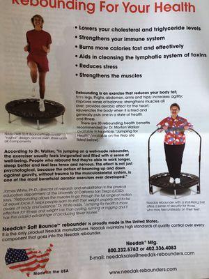 Needak Soft Bounce Rebounder for Sale in Newton, MA