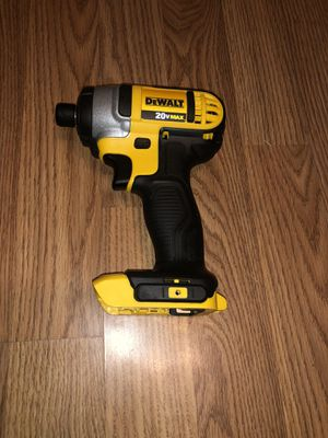 """Dewalt 20v Max 1/4"""" hex impact drill driver (tool only) for Sale in Odessa, TX"""