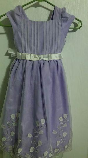 purple flower dress Girls size 6t for Sale in Bonney Lake, WA