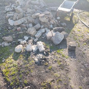 Free Bricks Broken Pavers I Dug Out If Free Fill Dirt Will Help Load For Free And Delivery For A Fee for Sale in Garden City, MI