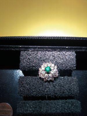 14K GE Emerald Ring for Sale in Aberdeen, WA