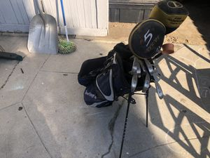 Golf clubs and bag for Sale in Fresno, CA