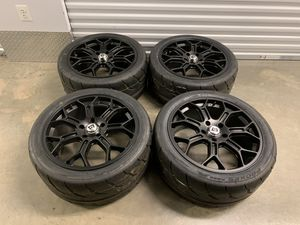 Camaro sport Motegi wheels performance size 19 for Sale in Manassas, VA