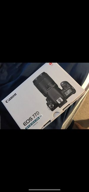 Canon Camera EOS 77D for Sale in Fort Washington, MD