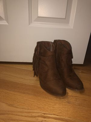 Fringed booties for Sale in Hanover, MA