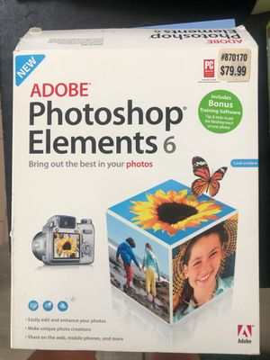 Adobe Photoshop 6 for Sale in Ontario, CA