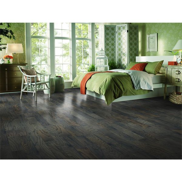Style Selections 5-in Mink Oak Engineered Hardwood Flooring (22-sq ft)