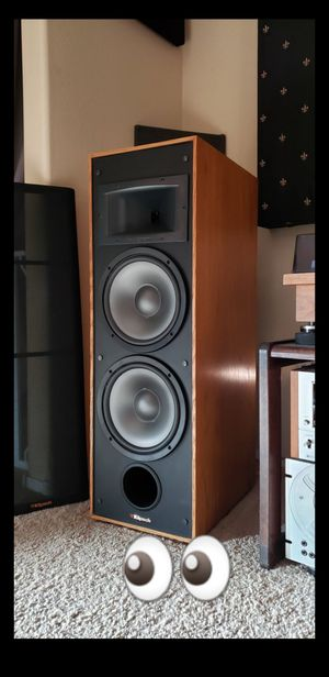 KLIPSCH KG5.5 VINTAGE SPEAKERS / DUAL 10's / EXCELLENT CONDITION & SOUND for Sale in Maricopa, AZ