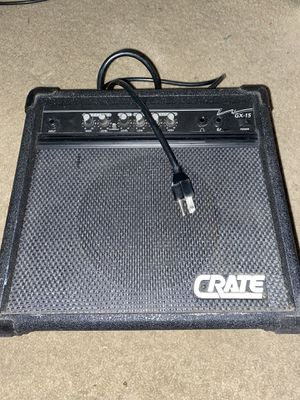 Crate GX-15 amp for Sale in Las Vegas, NV