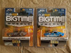 """JADA """"Shelby GT-500"""" Dub City Diecast Cars Combo Pack """"Set of 2"""" for Sale for sale  Gilbert, AZ"""