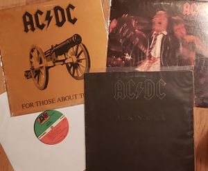 Vinyl Record Lot - 4 ACDC Albums for Sale in Murphy, TX