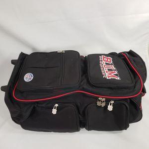 Vintage BUM B.U.M. Equipment Large Rolling Travel Gym Tote Duffel Bag for Sale in Keystone Heights, FL