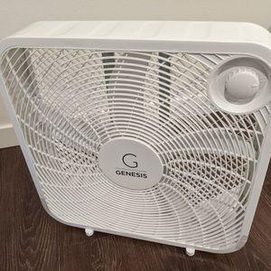 Genesis Box Fan for Sale in Seattle, WA