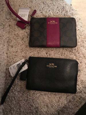 New Coach wristlets (with tags) for Sale in Smyrna, GA