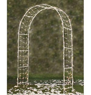 Garden trellis light up arch for Sale in San Antonio, TX