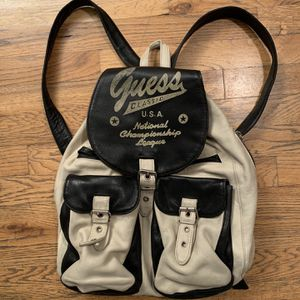 Vintage Leather Guess Backpack for Sale in Seattle, WA