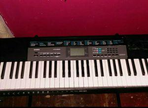 Casio Ctk 2550 61 key piano keyboard with Single X keyboard stand for Sale in Detroit, MI