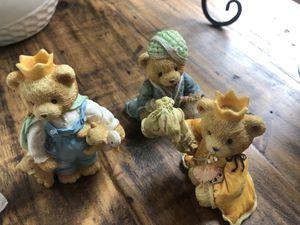Cherished Teddies Three Kings Set Nativity Pieces Wilbur Richard & Edward 950718 for Sale in Chula Vista, CA