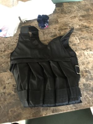 Heavy duty weighted vest 35lb for Sale in Santa Ana, CA