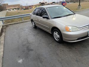 2002 Honda Civic. Stick shift for Sale in Joliet, IL