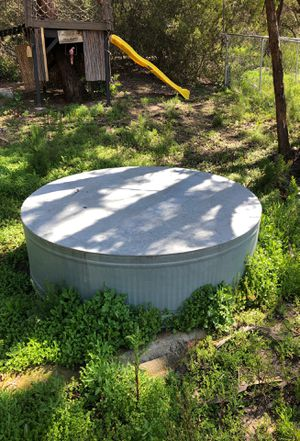 Large Galvanized Trough for Sale in Poway, CA