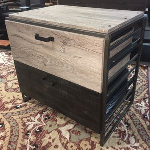 New Refinery Lateral File Cabinet in Rustic Gray for Sale in Columbia, SC