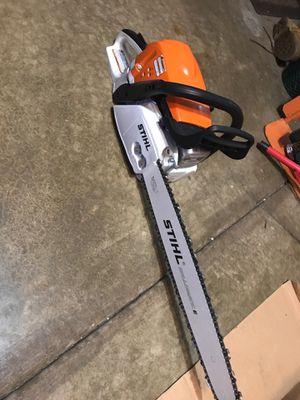STIHL MS 391 chain saw for Sale in Bolingbrook, IL