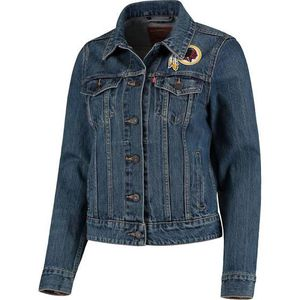Washington Redskins Levi's Sports Denim Trucker Jacket (New with tags) for Sale in Fort Washington, MD