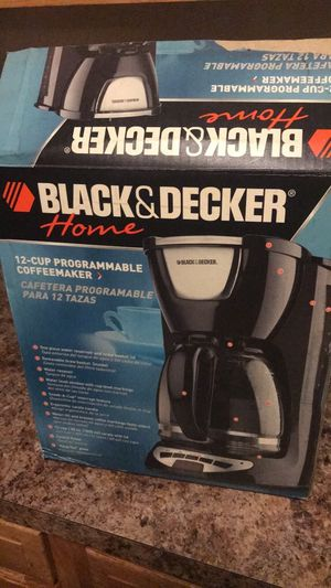Black and Decker coffee maker for Sale in Fort Washington, MD