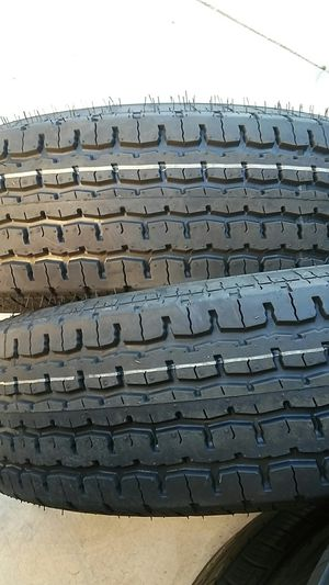 4 new trailer tires 225/75/15 .10 lonas for Sale in Palmdale, CA