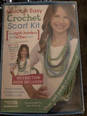 Crochet scarf kit for Sale in Hesperia, CA