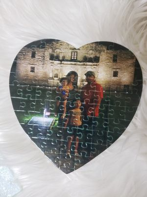 Customized puzzle, glass cutting boards, mousepads for Sale in Edinburg, TX