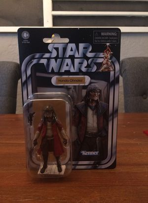 Star Wars The Vintage Collection #173 Hondo Ohnaka action figure new for Sale in Puyallup, WA