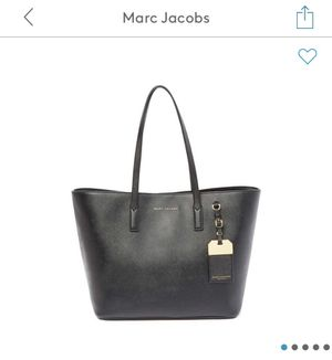 Marc Jacobs Black Luggage Tote Bag for Sale in Jurupa Valley, CA