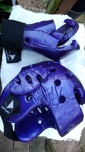 Boxing gloves and hat Century for Sale in GA, US