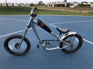 Jesse James bicycle chopper bike for Sale in Romeoville, IL