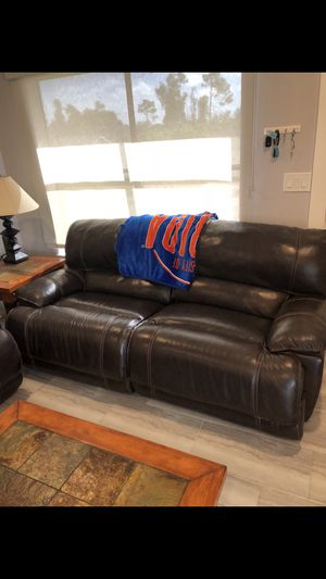 Leather Couch for Sale in Fort Myers, FL