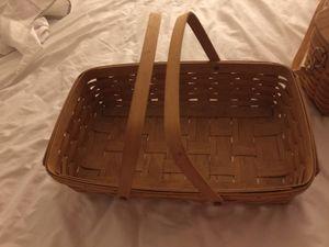 Longaberger large bread basket for Sale in Dallas, TX