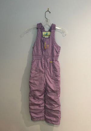 Girls snow bib/overall size 6 for Sale in Buena Park, CA