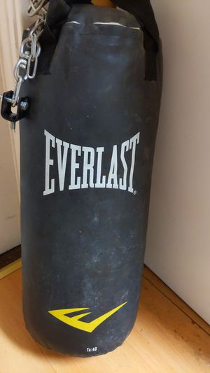 40 lbs Punching Bag for Sale in Rensselaer, NY