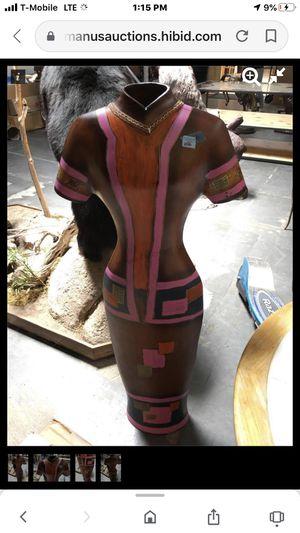Flower vase 5 feet lady dress for Sale in Las Vegas, NV