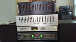HOME/PRO AUDIO EQUALIZERS--ADC/BSR/TEAC/NUMARK/ALESIS... for Sale in Aurora, IL