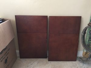 2 Cherrywood Breakfast-In-Bed Tray Tables for Sale in San Diego, CA