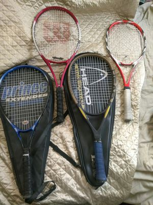 TENNIS RACKETS NICE EXPENSIVE ONES *READ DETAILS for Sale in University City, MO