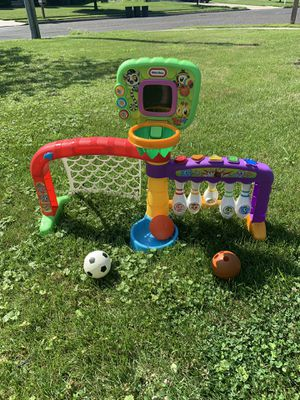 Little Tikes 3-2-1 Sports Zone Soccer, Basketball and Bowling Kids Toy for Sale in Voorhees Township, NJ