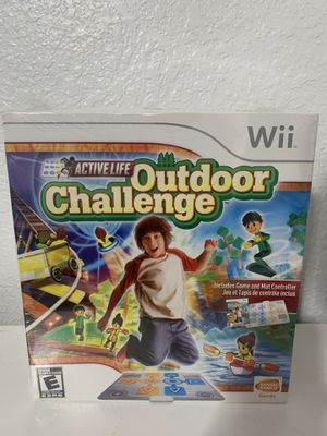 NEW, UNOPENED Wii Active Life Outdoor Challenge with Mat Included for Sale in Miramar, FL