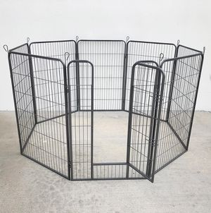 """New in box $120 Heavy Duty 48"""" Tall x 32"""" Wide x 8-Panel Pet Playpen Dog Crate Kennel Exercise Cage Fence for Sale in Pico Rivera, CA"""