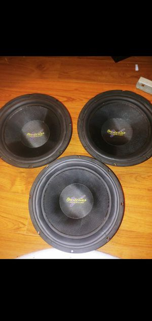 3 10 inch PG xs104 rare subwoofers for Sale in Everett, WA