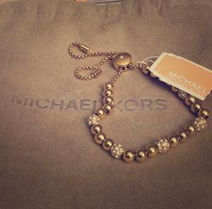 Michael Kors beaded slider bracelet for Sale in Bristol, IL