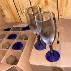 Glassware 3 Boxes Of 12 for Sale in Moon Township,  PA